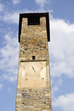 Vicopisano (Tuscany), tower Stock Image