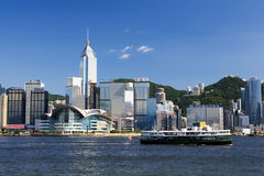 Victoria Harbour in Sunshine royalty free stock image