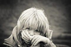 Victim of abuse Stock Photos