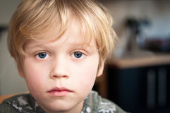 Victim of child abuse Royalty Free Stock Images