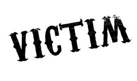 Victim rubber stamp Royalty Free Stock Photo