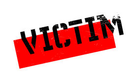Victim rubber stamp Royalty Free Stock Photos