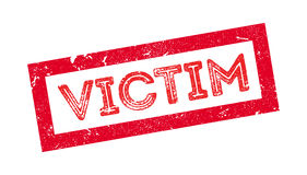 Victim rubber stamp Stock Image