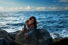 Victim of shipwreck Royalty Free Stock Photo