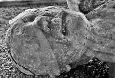 Victime de Pompeii photos stock