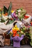 Victime de Sisto Malaspina de DÉCHIRURE d'attaque terroriste alléguée images stock