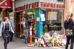 Victime de Sisto Malaspina de DÉCHIRURE d'attaque terroriste alléguée photographie stock libre de droits
