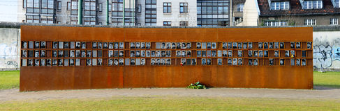 Victims of the berlin wall Royalty Free Stock Photos