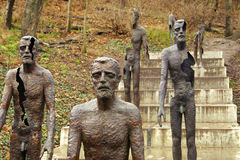 Victims of Communism Monument in Prague Royalty Free Stock Image
