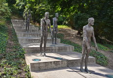 Victims of Communism Monument in Prague Royalty Free Stock Photography