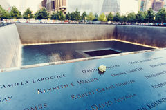 Victims of the Twin Towers terror attack Stock Image