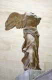 Victoire à ailes de Samothrace Photographie stock libre de droits
