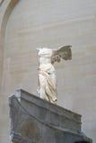 Victoire à ailes de Samothrace Image libre de droits
