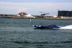 victoire d'équipe de bateau Photographie stock