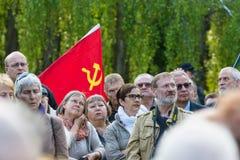 Victoire dans le jour de l'Europe Photos libres de droits