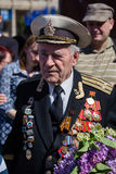 Victoire de défilé à Kiev, Ukraine Photo stock