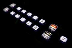 Victoire de prise de boutons de jeu Photos libres de droits