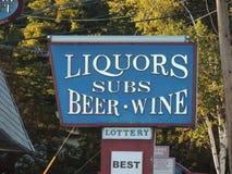 Victoire et sous-marins de bière de boisson alcoolisée Photos stock
