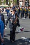 Victoire le 9 mai 2013 Kiev, Ukraine de défilé Photos libres de droits