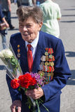 Victoire le 9 mai 2013 Kiev, Ukraine de défilé Photographie stock