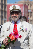 Victoire le 9 mai 2013 Kiev, Ukraine de défilé Photographie stock libre de droits
