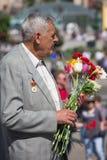 Victoire le 9 mai 2013 Kiev, Ukraine de défilé Photo stock