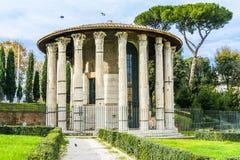 victor ναών Hercules Ρώμη Στοκ εικόνα με δικαίωμα ελεύθερης χρήσης