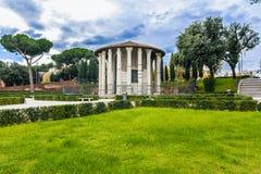 victor ναών Hercules Ρώμη Στοκ φωτογραφίες με δικαίωμα ελεύθερης χρήσης