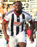 Victor Anichebe, West Bromwich Albion Royalty Free Stock Images