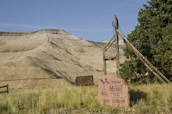Victor City of mines Stock Photography