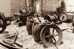 Victor Colorado, equipamento de mineração do ouro Imagem de Stock Royalty Free