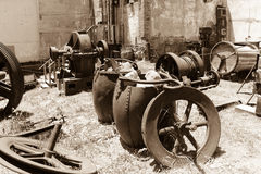 Victor Colorado, Gold Mining Equipment royalty free stock image