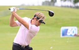 Victor Dubuisson am französischen Golf öffnen 2013 Lizenzfreie Stockbilder