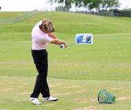 Victor Dubuisson at The French golf Open 2013 Stock Photography