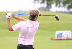 Victor Dubuisson at The French golf Open 2013 Stock Image