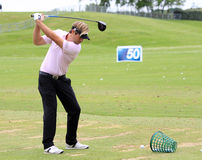 Victor Dubuisson at The French golf Open 2013 Stock Images