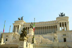 Victor Emanuel II monument in Rome Royalty Free Stock Images