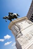 The Victor Emmanue IIl Monument. The Victor Emmanuel II Monument, majestic memorial in Rome, Italy Stock Image
