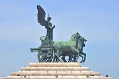 Victor Emmanuel ΙΙ μνημείο στη Ρώμη, Ιταλία Στοκ Φωτογραφία