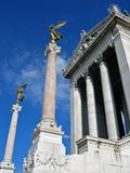 Victor Emmanuel. Monument in Rome royalty free stock photography