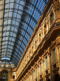 Victor Emmanuel Gallery in Milan Stock Photography