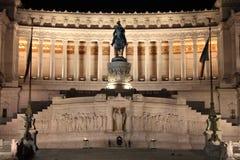 Victor Emmanuel II monument royalty free stock photo