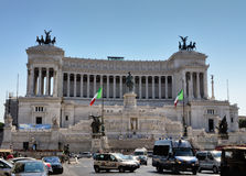 Victor Emmanuel II Monument Royalty Free Stock Photo