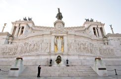 Victor Emmanuel II Monument, Rome Stock Photos