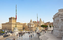 Victor Emmanuel II Monument , Rome Stock Image