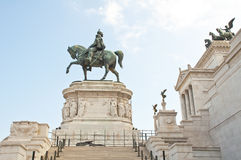 Victor Emmanuel II Monument , Rome Royalty Free Stock Photo