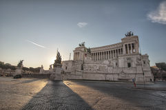 Victor Emmanuel II Monument in  Rome Stock Image