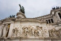 Victor Emmanuel II monument Stock Image