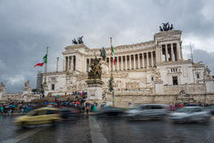 Victor Emmanuel II monument Royalty Free Stock Images