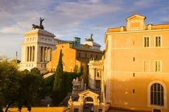 Victor Emmanuel II monument in Rome, Italië Royalty-vrije Stock Fotografie